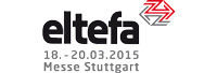 Logo der Messe Eltefa