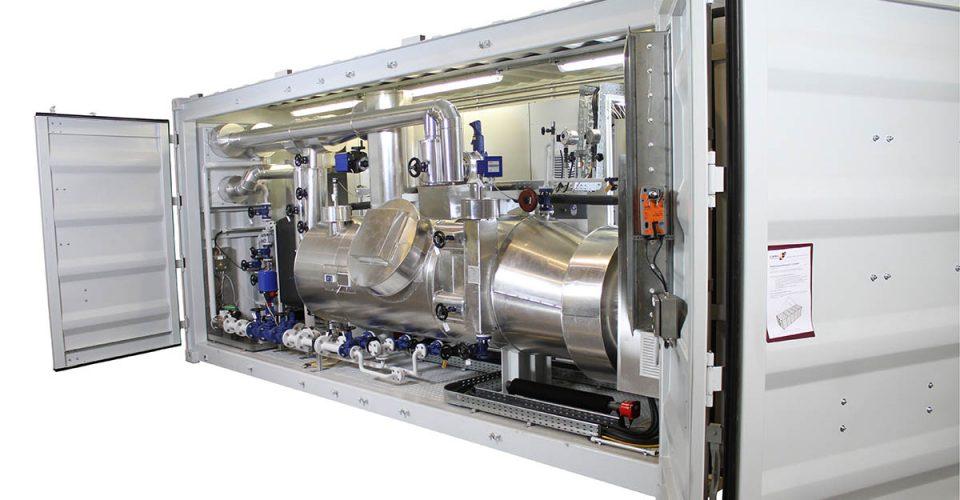 Dampferzeugersystem mit Speisewasseraufbereitung