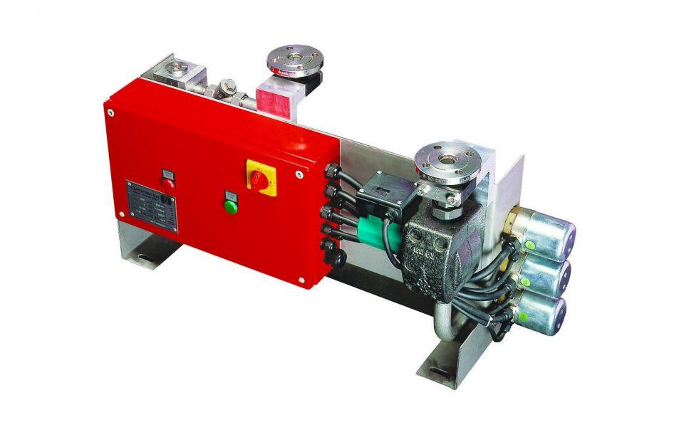Durchlauferhitzer mit Pumpe